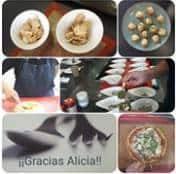 Publicación en facebook de la Asociación Glut1 de la clase reto cocina en Granollers Jun 29 2019