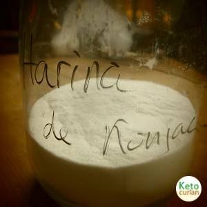 Harina de Konjak,un alimento clave en la cocina cetogénica