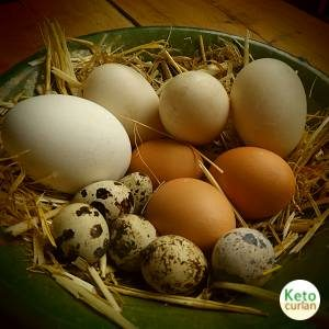 Huevos,un alimento clave en la cocina cetogénica