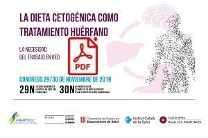 Congreso de la Dieta Cetogénica como Tratamiento Huérfano en Barcelona